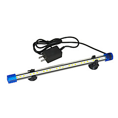 abordables Iluminación de Acuario-Peces Acuarios Luz LED Blanco / Azul Duradero Lámpara led V El plastico