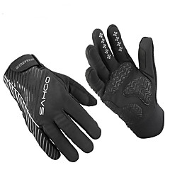 Sports Gloves Bike Gloves / Cycling Gloves Touch Gloves Keep Warm Wearable Wearproof Protective Limits Bacteria Anti-skidding Full-finger