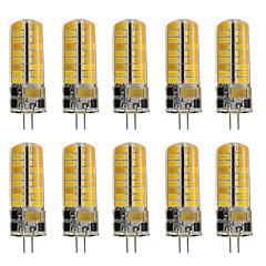 preiswerte LED-Birnen-10 Stück 260 lm G4 LED Doppel-Pin Leuchten T 72 LED-Perlen SMD 2835 Dekorativ Warmes Weiß / Kühles Weiß 220-240 V / 12 V / RoHs