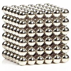216pcs 3mm sølv diy magnetiske kuler sfære perle magisk terning magnet puslespill byggekloss utdanning leke