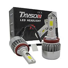お買い得  カーアクセサリー-H11 車載 電球 110W W 9200lm lm LED ヘッドランプ