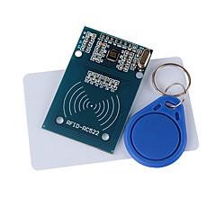 rc522 модуль RFID + IC Card + S50 Фудань карточки брелки для (для Arduino) предоставляют код развития