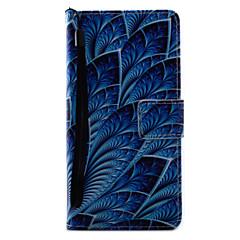 Для sony xperia x xa корпус чехол синие цветы картина картина pu кожа материал карта stent для xp xz