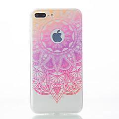 Назначение iPhone X iPhone 8 iPhone 7 iPhone 7 Plus iPhone 6 Чехлы панели С узором Задняя крышка Кейс для Кружева Печать Мягкий