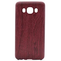 Voor samsung galaxy j1 j3 houten patroon pu skinning zachte telefoon hoesje voor Samsung Galaxy J1 j3 j5 j7 j510 j710 g360 g530