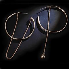 voordelige Druppeloorbellen-Druppel oorbellen Ring oorbellen Dangle Oorbellen Sieraden Goud Legering Goud Sieraden Voor Bruiloft Feest Dagelijks Causaal 1 paar