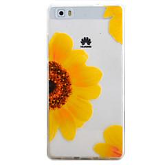Για Με σχέδια tok Πίσω Κάλυμμα tok Λουλούδι Μαλακή TPU HuaweiHuawei P9 / Huawei P9 Lite / Huawei P8 Lite / Huawei Y635 / Huawei Υ6 /