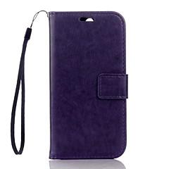 Para htc um suporte de cartão de carteira de caso m8 com estojo caso de corpo inteiro couro sólido couro duro