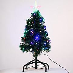 abordables Decoración del Hogar-navidad iluminado árbol de navidad