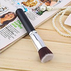 1pcs cosmetische make-up borstel zwarte foundation brush zachte synthetische haren