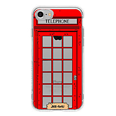 Для С узором Кейс для Задняя крышка Кейс для Панорама города Мягкий TPU AppleiPhone 7 Plus / iPhone 7 / iPhone 6s Plus/6 Plus / iPhone