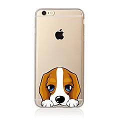 Недорогие Кейсы для iPhone 5-Кейс для Назначение Apple iPhone X iPhone 8 Plus Кейс для iPhone 5 iPhone 6 iPhone 7 Полупрозрачный С узором Кейс на заднюю панель С