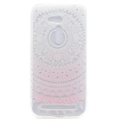 Voor asus zb551kl zb452kg roze zonnebloempatroon hoge doorlatendheid tpu materiaal telefoontoestel