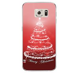 Funda Para Samsung Galaxy S7 edge S7 Traslúcido Diseños Cubierta Trasera Navidad Suave TPU para S7 edge plus S7 edge S7 S6 edge plus S6