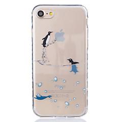 Для Прозрачный / С узором Кейс для Задняя крышка Кейс для Животный принт Мягкий TPU AppleiPhone 7 Plus / iPhone 7 / iPhone 6s Plus/6 Plus