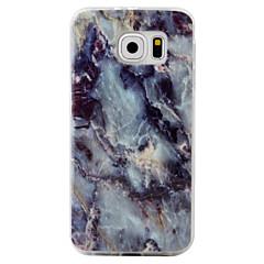 billige Galaxy S3 Etuier-Etui Til Samsung Galaxy S7 edge S7 Mønster Bagcover Marmor Blødt TPU for S7 edge S7 S6 edge S6 S5 S4 S3
