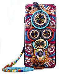 Для Кейс для iPhone 7 / Кейс для iPhone 7 Plus / Кейс для iPhone 6 Стразы / С узором Кейс для Задняя крышка Кейс для Мультяшная тематика