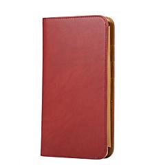 Недорогие Универсальные чехлы и сумочки-Кейс для Назначение универсальный Другое Бумажник для карт Кошелек Флип Чехол Сплошной цвет Твердый Кожа PU для