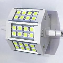 r7s ledde majsljus t 24led smd 5050 680lm-800lm varm vit kall vit dekorativ AC 85-265v