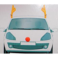 자동차 장식 크리스마스 뿔 자동차 뿔 44 * 14cm