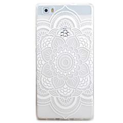 voordelige Hoesjes / covers voor Huawei-Voor huawei p9 p8 lite case cover alle bloemen patroon tpu materiaal telefoon shell voor y5c y6 y625 y635 5x 4x g8