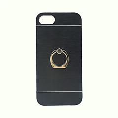 Для Кейс для iPhone 7 Кольца-держатели Кейс для Задняя крышка Кейс для Один цвет Твердый Металл Apple iPhone 7