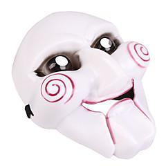 ماسك الهالويين ألعاب مهرج بلاستيك PVC موضوع الرعب 1 قطع Halloween حفلة تنكرية هدية