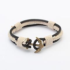 preiswerte Armbänder-Herrn / Damen Wickelarmbänder - Anker Retro, Europäisch, Modisch Armbänder Bronze Für Party / Alltag / Normal