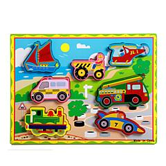 Jucării Educaționale Puzzle Jucarii Tren Mașină Transport Motocicletă Autobuz Camion Noutate Băieți Fete 8 Bucăți