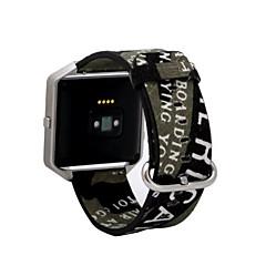 роскошный натуральная кожа запястье ремешок заменить полосы и металлический каркас для Fitbit блеска трекера часы