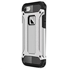 Недорогие Кейсы для iPhone-Кейс для Назначение Apple iPhone X / iPhone 8 / iPhone 7 Защита от удара Кейс на заднюю панель броня Твердый ПК для iPhone X / iPhone 8 Pluss / iPhone 8