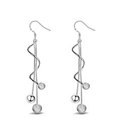 Damen Tropfen-Ohrringe Kugel-Ohrringe Schmuck Modeschmuck Sterling Silber Schmuck Für Hochzeit Party Alltag Normal Sport