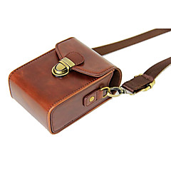 cheap Cases, Bags & Straps-Dengpin PU Leather Camera Case Bag Cover for Casio ZR3600 ZR3500 ZR2000 ZR1500 ZR1700 ZR55(Assorted Colors)