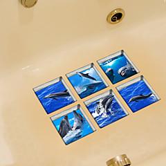 Állatok Falimatrica Repülőgép matricák WC-matricák,Vinil Anyag lakberendezési fali matrica