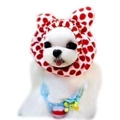 halpa Koirien vaatteet ja tarvikkeet-Kissa Koira Huivit ja hatut Koiran vaatteet Sievä Loma Muoti Leopardi Kahvi Punainen Pinkki Asu Lemmikit