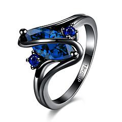 olcso Gyűrűk-Női Karikagyűrűk Kocka cirkónia Divat Állítható Cirkonium Lógó Ékszerek Parti Halloween