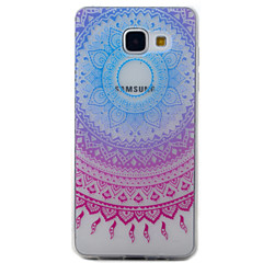 voordelige Galaxy A5 Hoesjes / covers-hoesje Voor Samsung Galaxy A5(2016) A3(2016) Transparant Patroon Achterkant Dromenvanger Zacht TPU voor A5(2016) A3(2016)