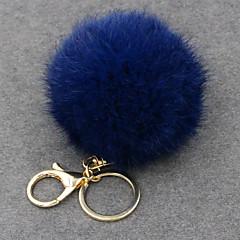 preiswerte Schlüsselanhänger-Schlüsselanhänger Blau / Rosa / Hellblau Kreisform Leder Einfach, Retro, Modisch Für Hochzeit / Party / Alltag / Damen