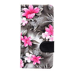 For Sony Xperia Z3 Mini Z3 Flowers PU Leather Case for Sony Xperia M2 Sony Xperia M4 Sony Xperia E4