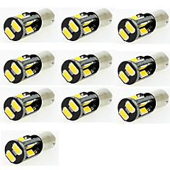 Недорогие Освещение салона авто-10 шт. Автомобиль Лампы SMD 5630 Светодиодная лампа Подсветка двери / Ремонтная лампа / Подсветка для номерного знака