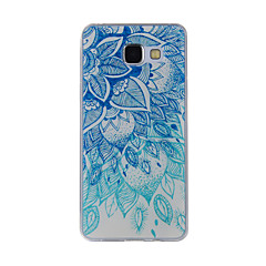 voordelige Galaxy A7 hoesjes / covers-hoesje Voor Samsung Galaxy A5(2016) A3(2016) Patroon Achterkantje Lace Printing Zacht TPU voor A8(2016) A5(2016) A3(2016) A8 A7 A5 A3