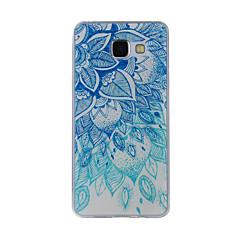 Case Kompatibilitás Samsung Galaxy A5(2016) A3(2016) Minta Hátlap csipke nyomtatás Puha TPU mert A8(2016) A5(2016) A3(2016) A8 A7 A5 A3