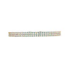 preiswerte Halsketten-Damen - Strass Europäisch, Modisch Weiß, Regenbogen Modische Halsketten Schmuck Für Hochzeit, Party, Alltag