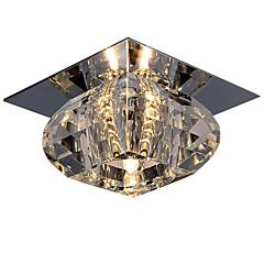 cheap Indoor Lights-LightMyself™ Flush Mount Downlight Chrome Crystal, Mini Style 110-120V / 220-240V Bulb Included / G4