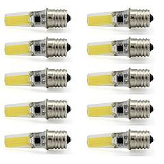 preiswerte LED-Birnen-10 Stück 3 W 280-300 lm E17 LED Spot Lampen T 1 LED-Perlen COB Dekorativ Warmes Weiß / Kühles Weiß 110-120 V / RoHs