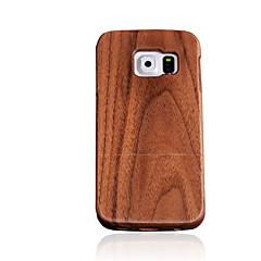 Mert Other Case Hátlap Case Egyszínű Kemény Fa mert Samsung S7 / S6 edge / S6 / S5 / S4