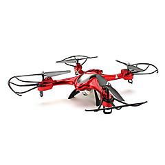 billige Quadrokopter-RC Drone SJ  R / C X300-2 4 Kanaler 6 Akse 2.4G Uden kamera Fjernstyret quadcopter En Knap Til Returflyvning Hovedløs Modus 360 Graders