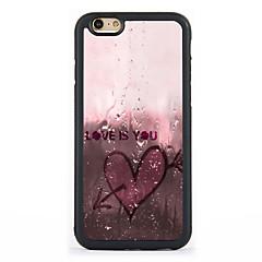 Για Θήκη iPhone 7 Θήκη iPhone 6 Θήκη iPhone 5 Θήκες Καλύμματα Με σχέδια Πίσω Κάλυμμα tok Καρδιά Σκληρή Αλουμίνιο για Apple iPhone 7 Plus