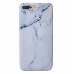 Недорогие Кейсы для iPhone 6s-Назначение Кейс для iPhone 7 Кейс для iPhone 7 Plus Кейс для iPhone 6 Чехлы панели С узором Задняя крышка Кейс для Мрамор Мягкий