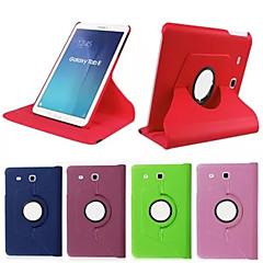 billige Galaxy Tab 4 10.1 Etuier-Etui Til Tab S 10.5 Tab S 8.4 Samsung Galaxy Tab A 9.7 Tab A 8.0 Tab S2 9.7 Tab S2 8.0 Samsung Galaxy etui Med stativ Flip 360° Rotation